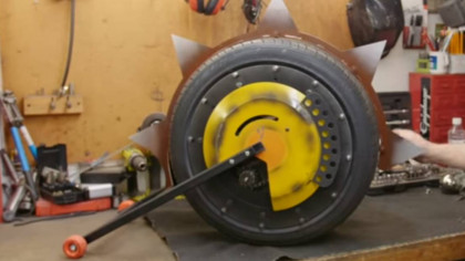 Mad Inventor YouTuber Makes Real Junkrat RIP-Tire from Overwatch