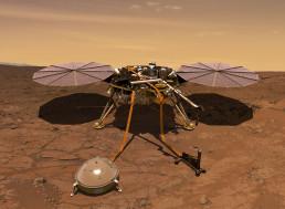 Listen to What Mars Sounds like through NASA's InSight Lander