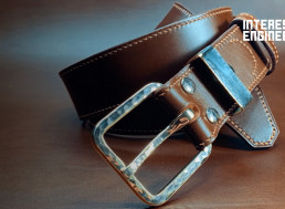 Make Your Own DIY Vegetable Tanned Leather Belt With This Guide