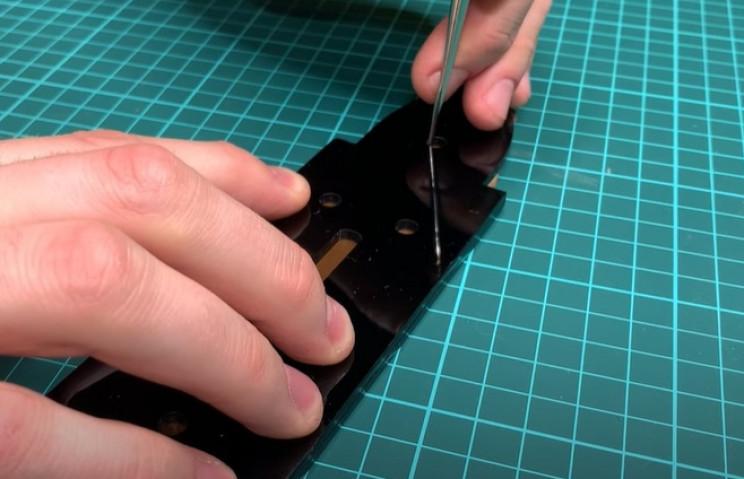 diy leather belt template