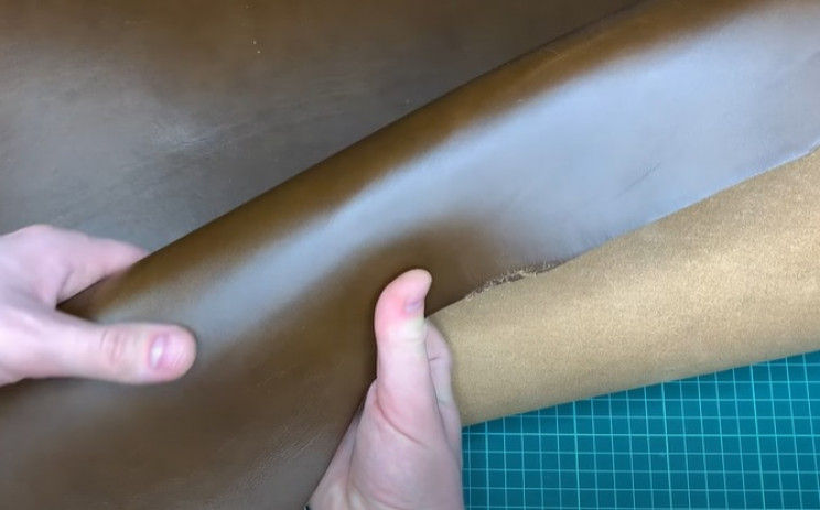 diy leather belt prepare leather