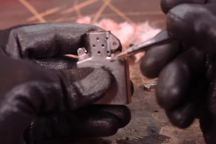 zippo dismantle