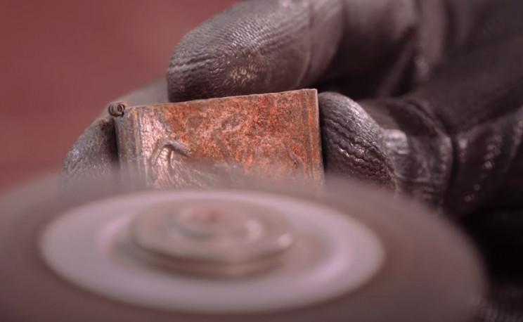 zippo restoration polishing