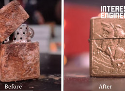 Check out This Restoration of a Vintage Rusted Zippo Lighter