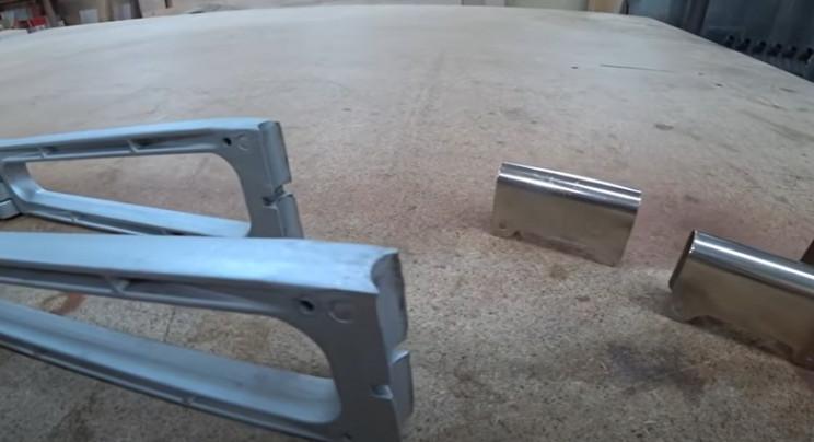 diy rocking chair restore chrome