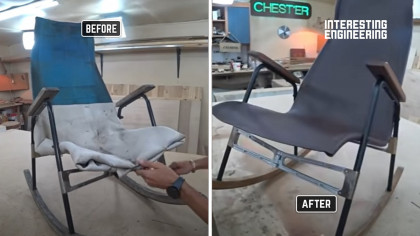 How to Restore an Old and Knackered Outdoor Rocking Chair