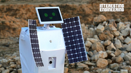 This Robot Was Designed to Produce Water on Mars