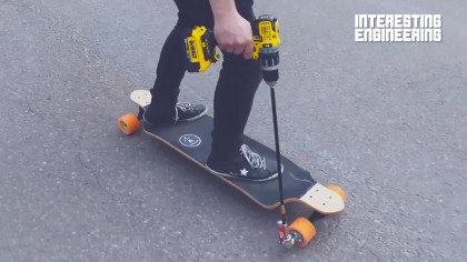 An Electric Skateboard Made from Scratch