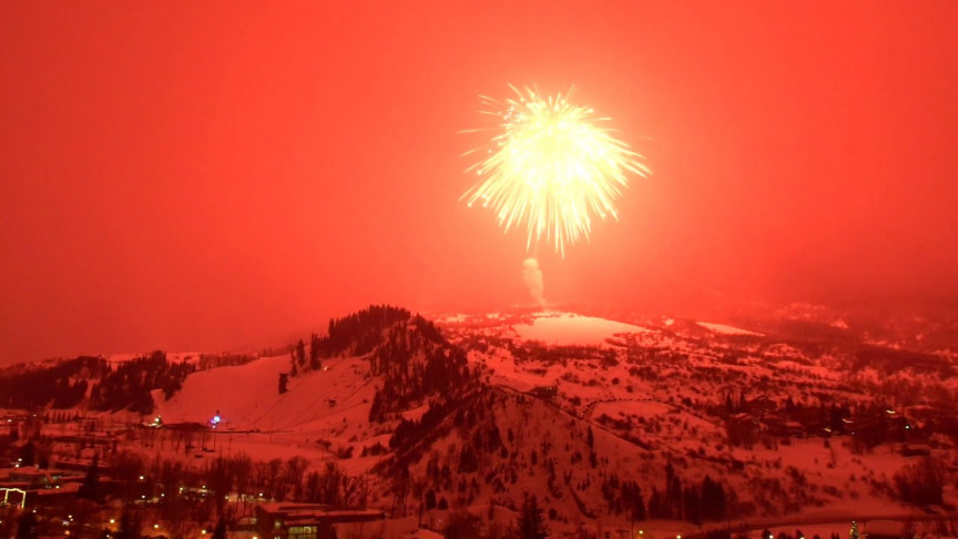 Watch the World's Largest, Guinness Record-Breaking Firework Show