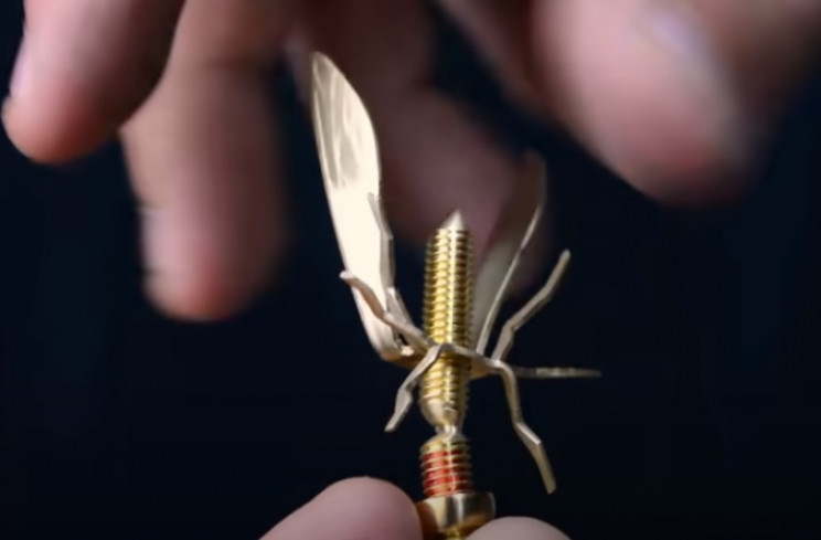nut and bolt wasp final assembly