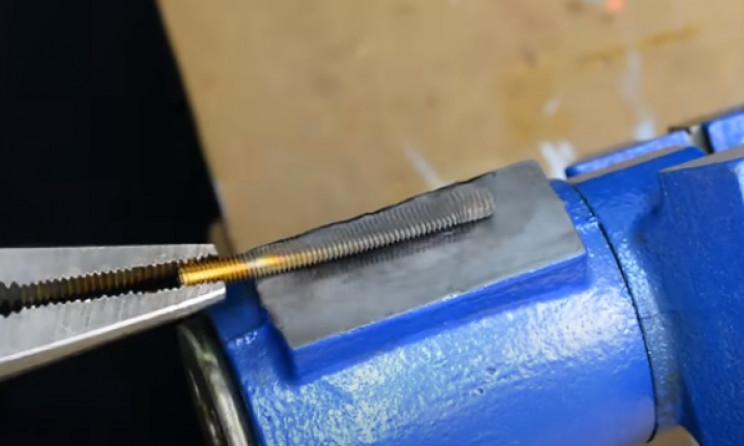 nut and bolt wasp flatten bolt