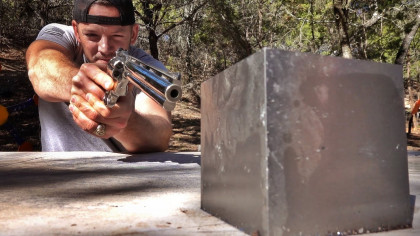 YouTuber Fires Rounds at Tungsten Block to Test Its Toughness