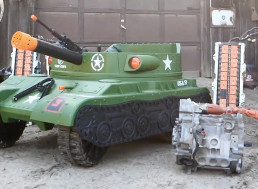 479-HP Electric Power Wheels Tank: What Could Go Wrong?
