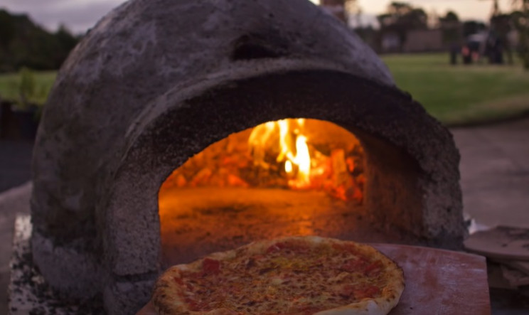 diy pizza oven complete