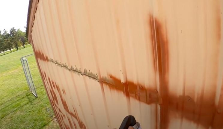 diy airbrush building rust treat seams