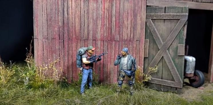 diy zombie apocalypse diorama complete