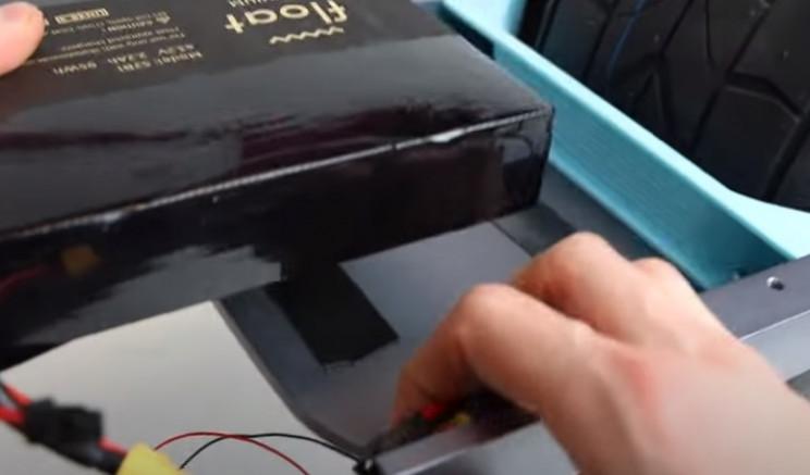 diy float board battery