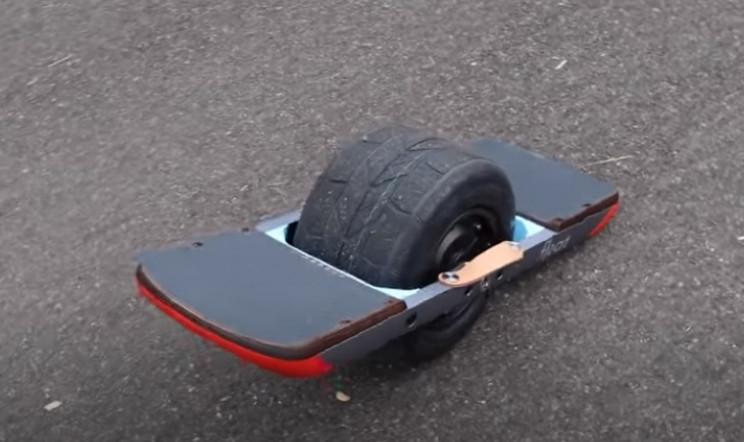 diy float wheel skateboard complete