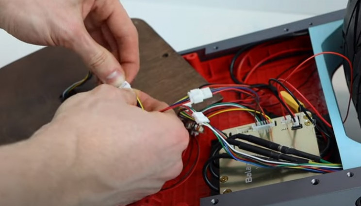 diy float board front wiring