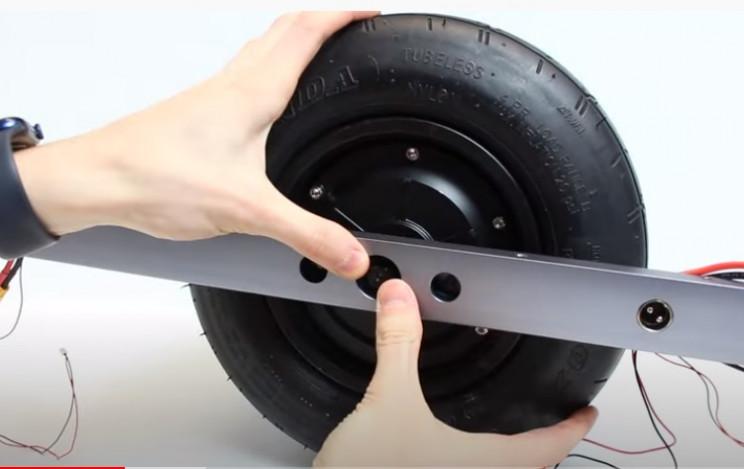 diy float board hub wheel