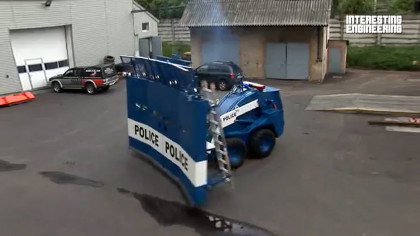The Most Futuristic Police Vehicles Around the World