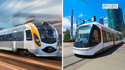 The Difference Between Trains and Trams