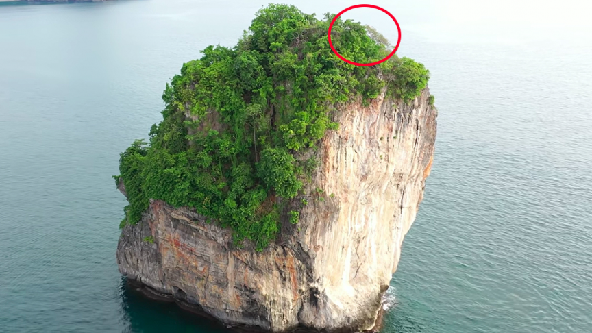 Woman Crashes Drone on Tiny Island, Undertakes Adventure To Recover It