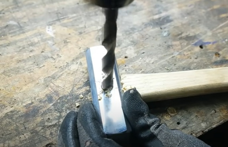 old to new hammer drill handle