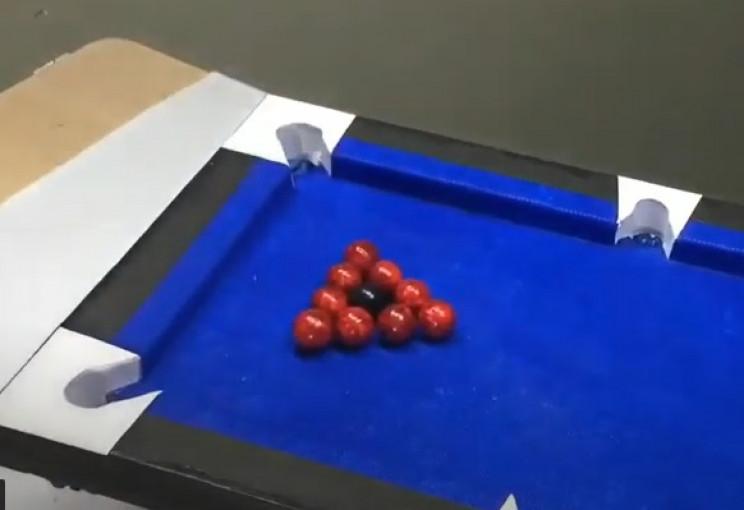diy cardboard pool table balls