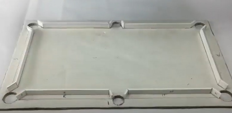 diy cardboard pool table cushion walls