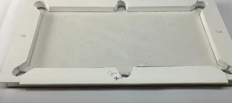 diy cardboard pool table glue all rails
