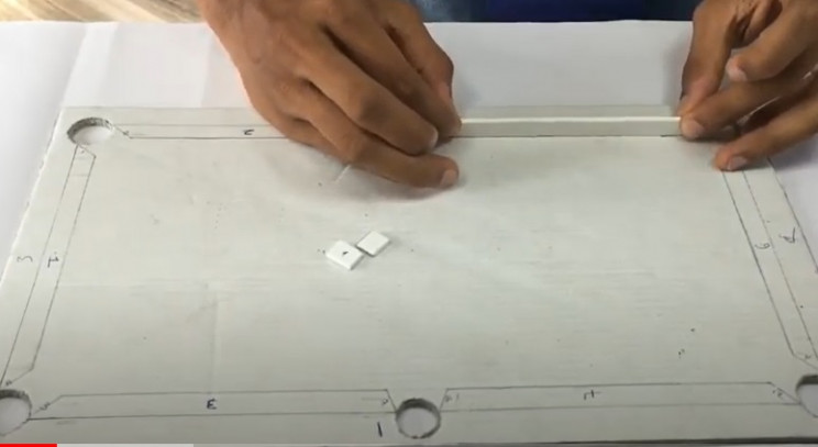 diy cardboard pool table cushion risers