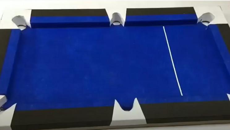 cardboard pool table corner plates