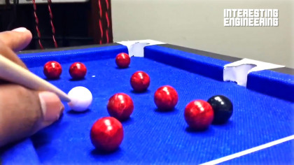 How to Make Your Own Mini-Pool Table From a Little More Than Cardboard