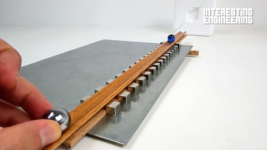 Build Your Own Magnetic Accelerator Using Neodymium Magnets