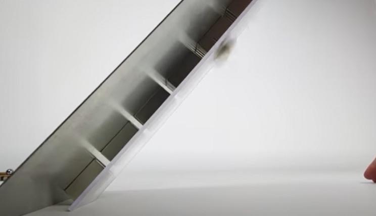 magnetic accelerator overhangs