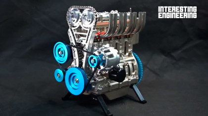 Here Is How to Build Your Working Little V4 Engine