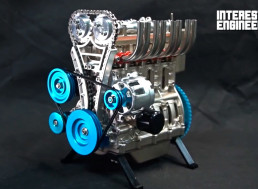 Here Is How to Build Your Working Little Inline-four Engine