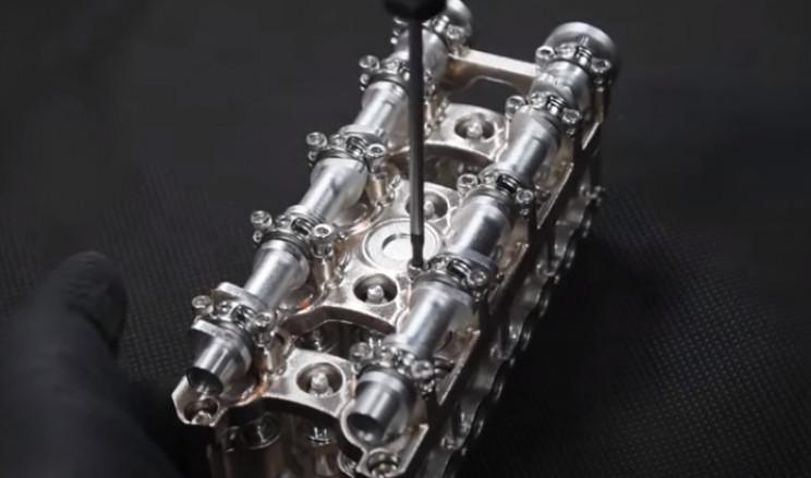 v4 engine mount camshafts