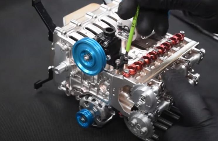 v4 engine timing belt 2