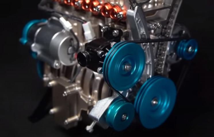 v4 engine complete
