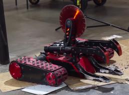 YouTuber Uses BattleBot 'Red Devil' To Destroy an Office