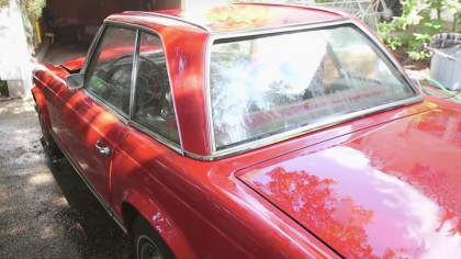 Watch This 1969 Mercedes Come Back to Life, after 37 Years in a Garage