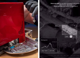 See the World's Smallest Scanning Electron Microscope in Action