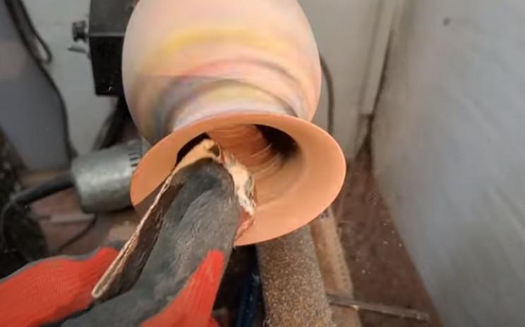diy pencil vase inside working