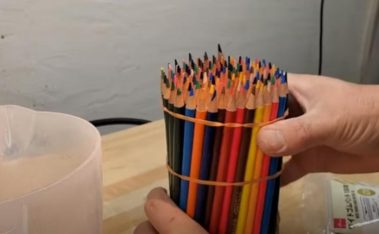 diy pencil vase bundle