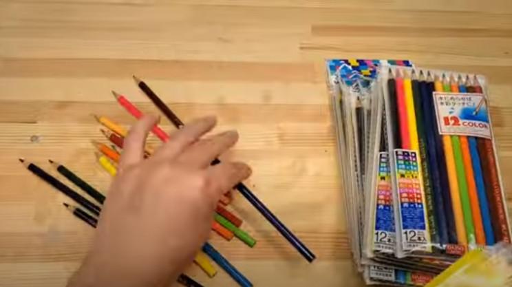 diy pencil vase pencils