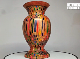 Learn How to Make a Vase Using Nothing More than Coloring Pencils