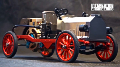 Build Your Own Working Classic Car Model Kit