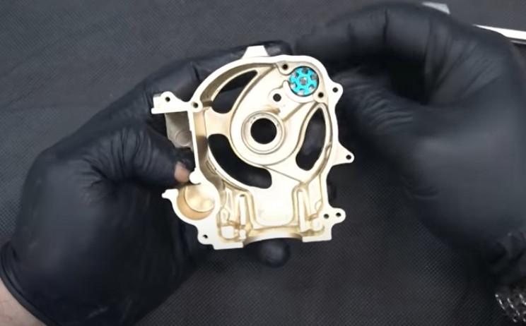diy classic car model engine block